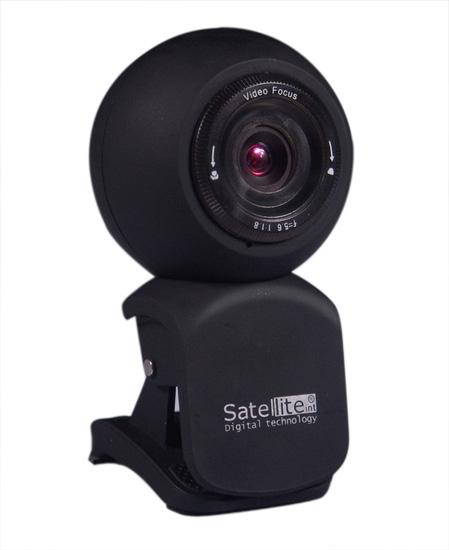 Camera Webcam - Satellite - Wb-C12 5.0M Preto